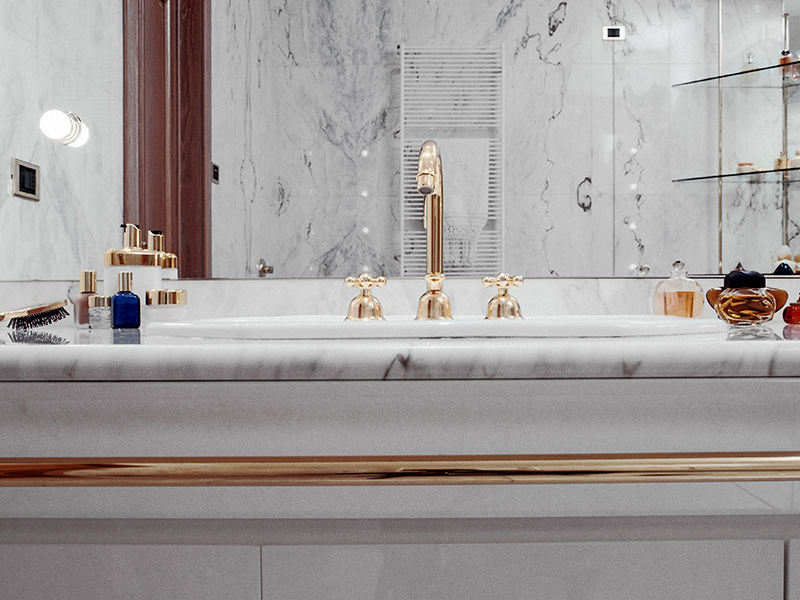 Marmeren Badkamer Vloer : Badkamers van dalen natuursteen walcheren vlissingen